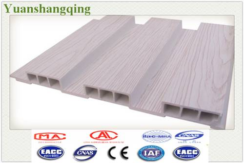 Wood Plastic Composite Wood Grain Ceiling