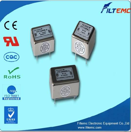 DC PCB filters/EMI filters