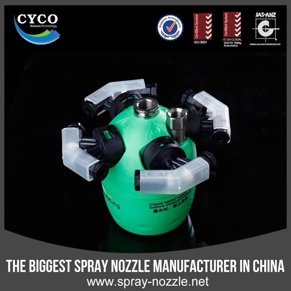 CYCO Patent Dry Fog Humidifier, Non-wetting Dry Fog System, Mushroom Humidifier Fogger