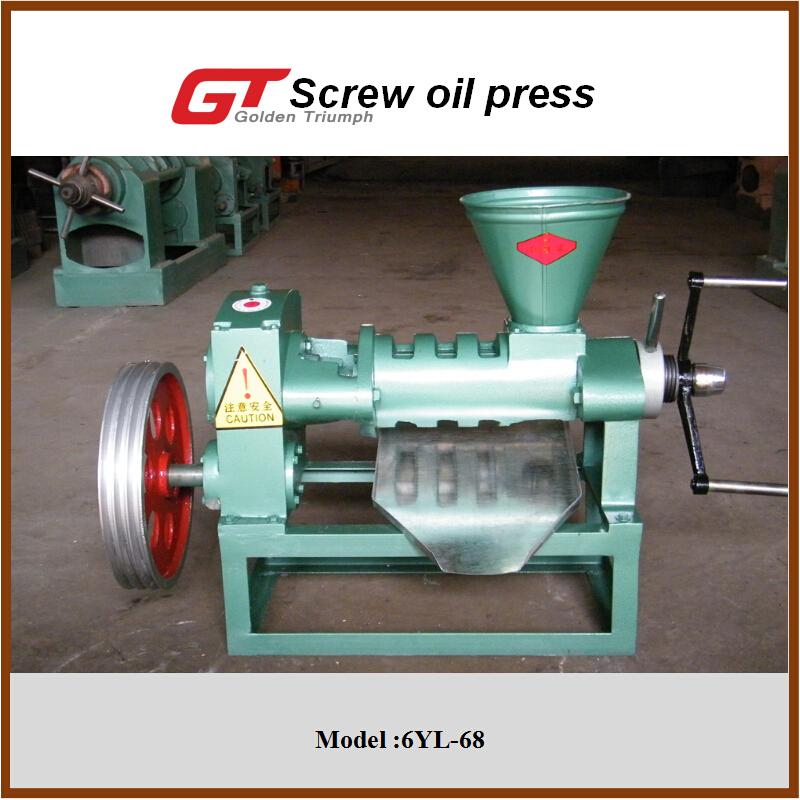 6YL-68 screw oil press