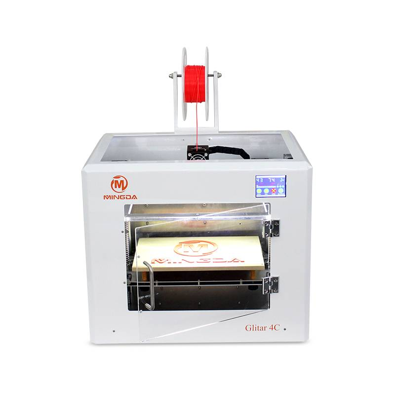 Newest MINGDA 3d printer 300*200*200mm, industrial 3d printer for PLA ABS 3d printer filament, profe