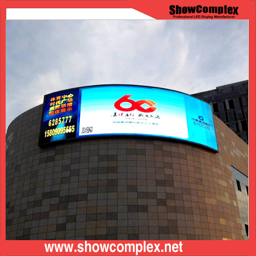 P10 Commercial Curved LED Display for Advertising
