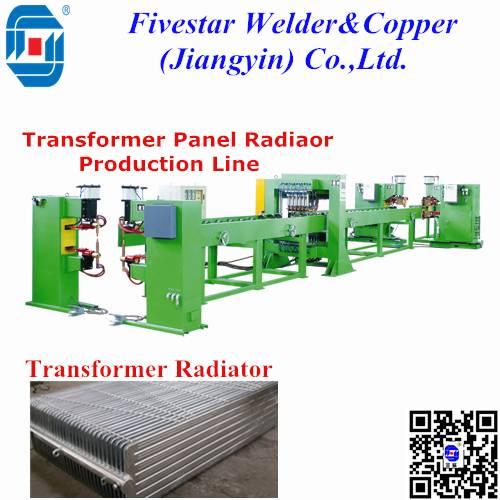 Automatic Transformer Panel Radiator Welding Machine Production Line