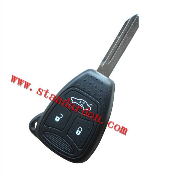 Remote Key Case Shell for Chrysler Dodge Jeep Avenger Nitro Replacement