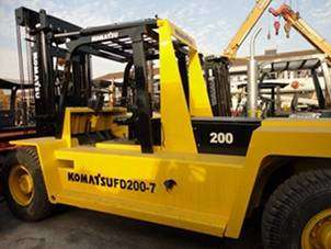 Used KOMATSU Forklift  used forklift in china