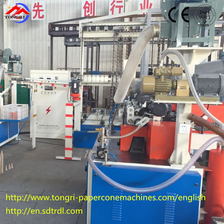 Best quality high configuration easy operation fireworks paper cone making machine