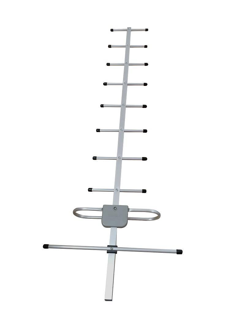 TDT UHF 10 units ground wave receiving yagi antenna of high gain on sales