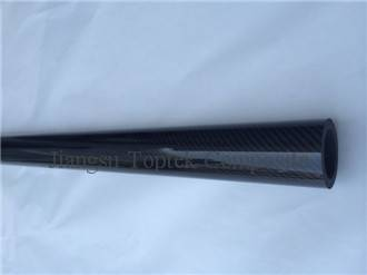 OEM diameter carbon fiber tube, carbon fiber pipe with customized sizes