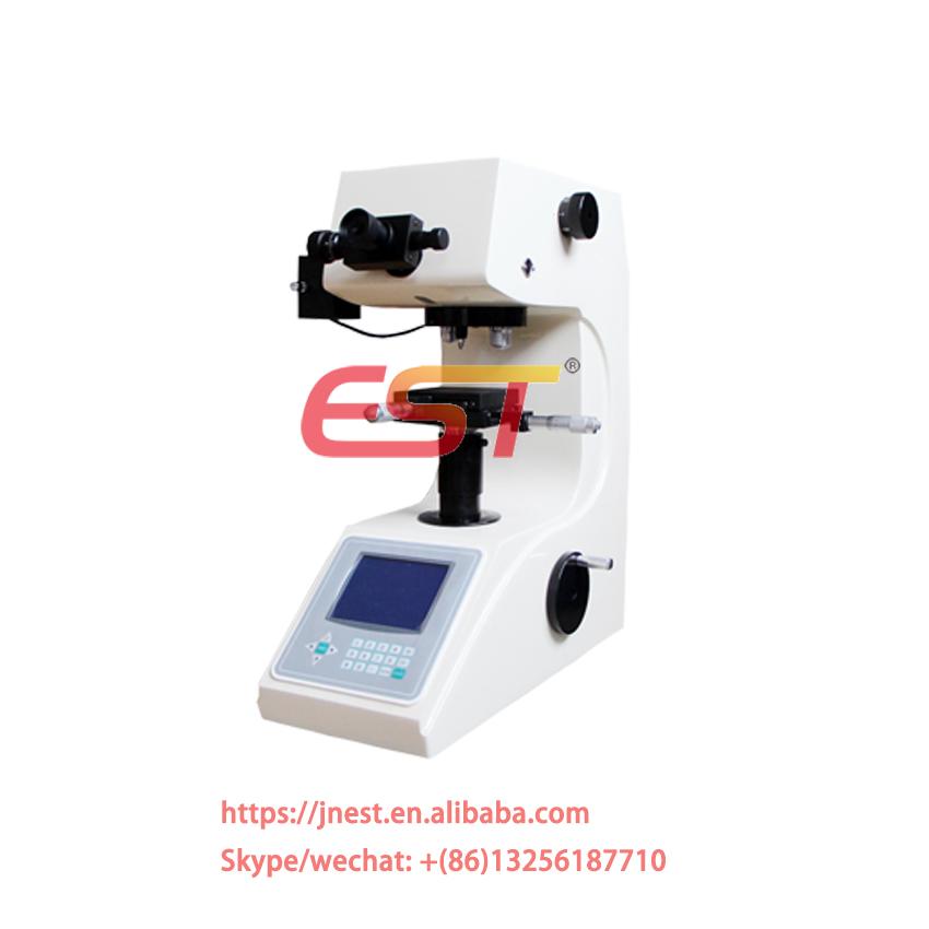 China manufacturer HV-1000 glass ceramic gem vickers hardness tester