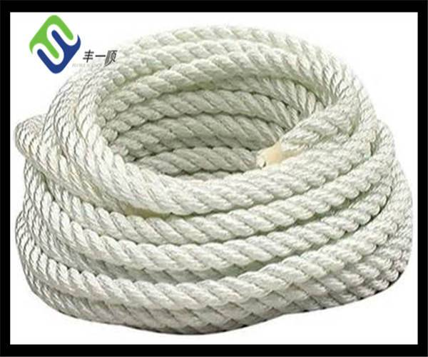 3 strand pp/nylon/pe/polyester rope for sale