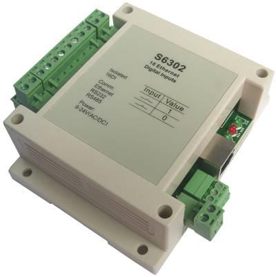 ethernet 16 channel digital inputs modbus tcpip