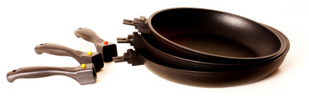 AL Diecasting frypan with Removable(Detachable) handle