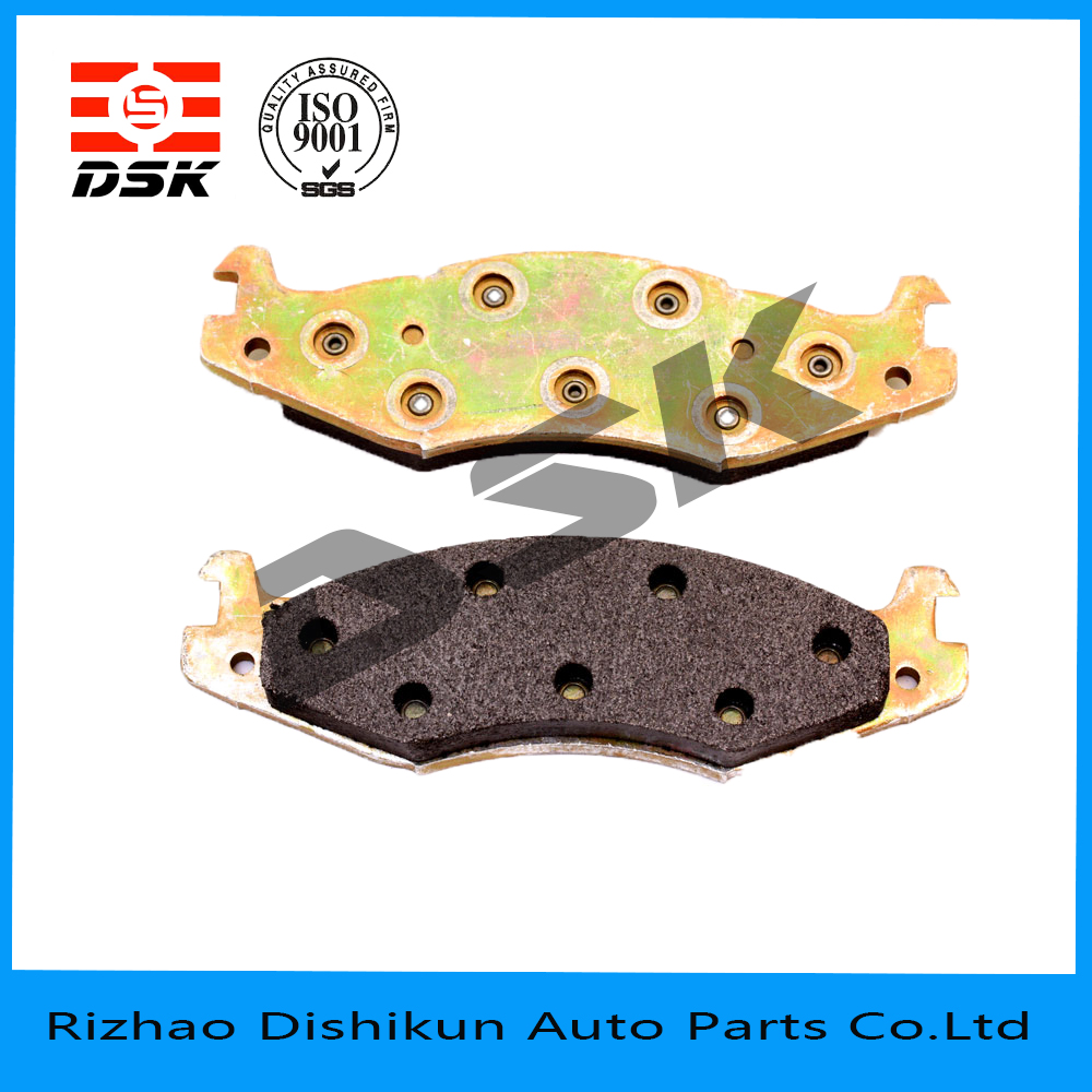 excellent quality low noise auto part brake pad 7122A-D203
