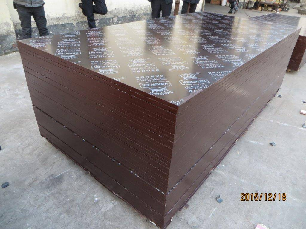 'KINGPLEX' BRAND FILM FACED PLYWOOD, COMBI CORE, WBP PHENOLIC GLUE, IMPORTED BROWN FILM