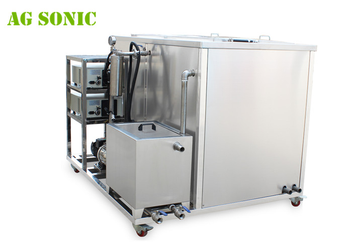 AG SONIC Industrial Ultrasonic Cleaner with Oil Filter System