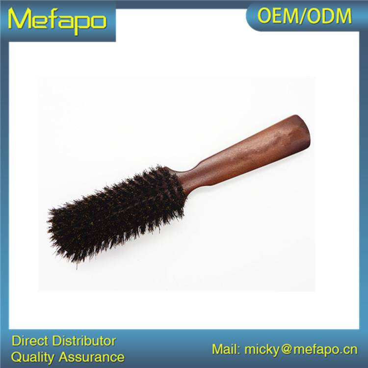 Made in China Wooden Handle Bristle Brush Custom Beard Brush