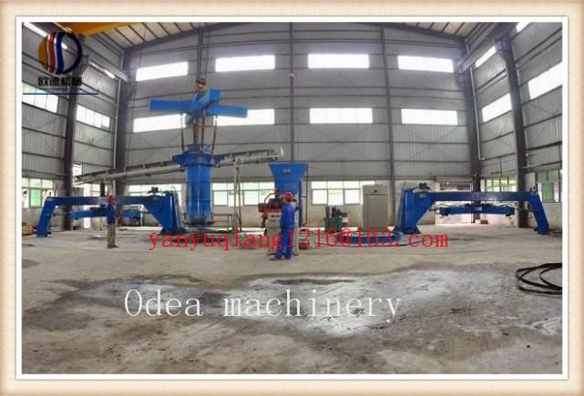 Vertical Vibration casting pipe machine of XZ600-2000