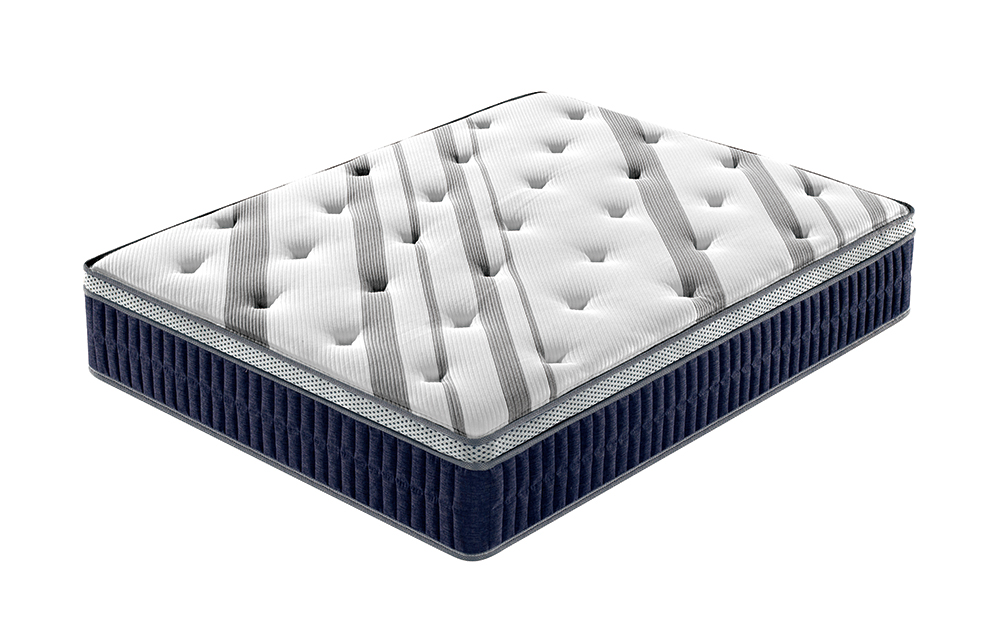 Cushion Firm Euro Pillow Top King Queen Mattress Set