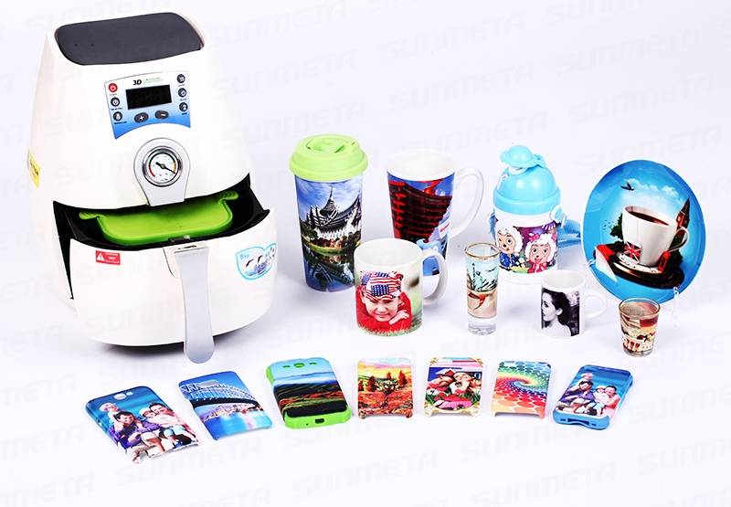 Advanced Image Digital Transfer Sublimation 3D Heat Press Machine Cellphone Cover Printer
