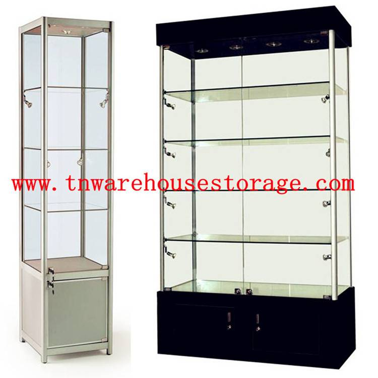 glass display cabinet/jewelry display cabinets for sale