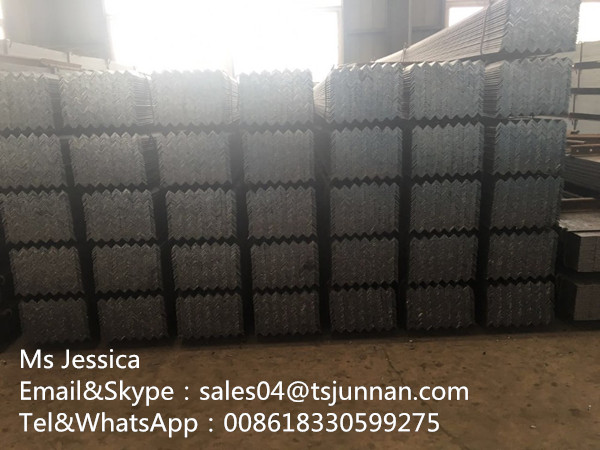 Q235B,Q345B,SS400,SS540,A36 grade Galvanized cross arm / angle iron / Angle Steel for shipbuilding a