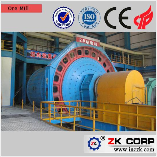 Large grinding Capacity Ball Mill