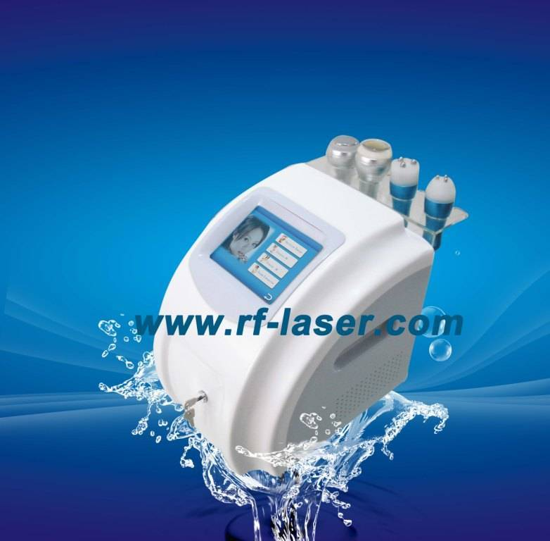 Ultrasound cavitation tripolar rf vacuum liposuction