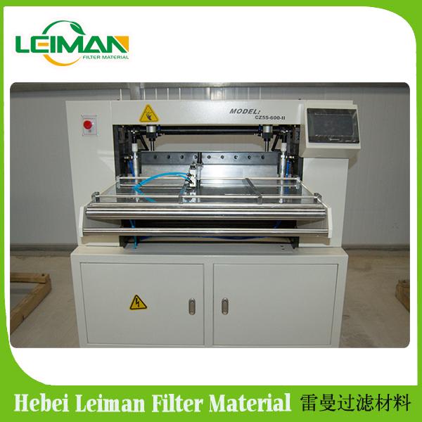 LMCZ55-600-II Full-auto oil filter paper knife pleating machine