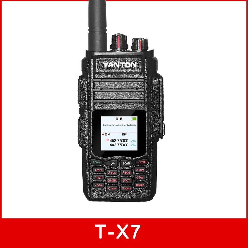 WCDMA GSM Analog Radio T-X7 gps sim card walkie talkie