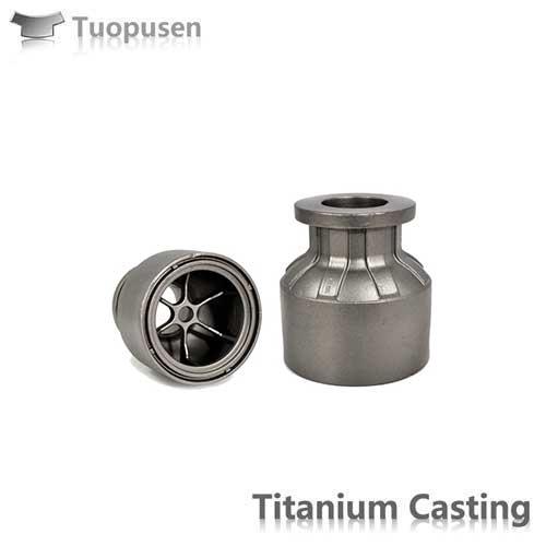 China Titanium Castings impeller precision casting