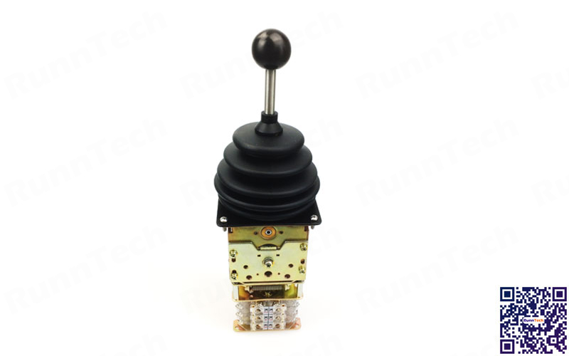 RunnTech Single Axis Frictional Movement Heavy Duty Joystick for Hoist Operation