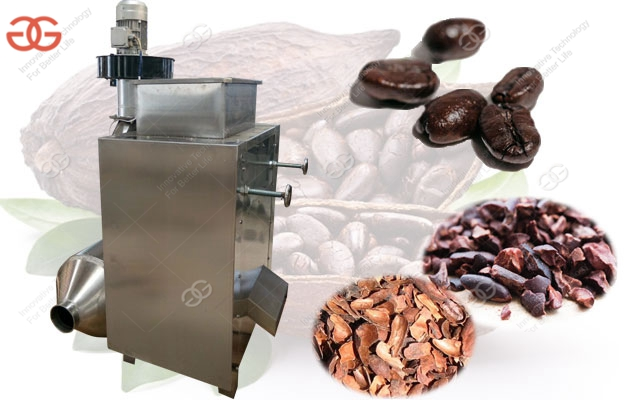 Good Quality Cocoa Bean Skin Peeling Machine With Factory Price