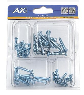 Zinc Plated Self Tapping Screw Kit