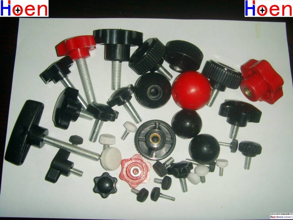 For Lathes and Printing Machines Parts Plastic Wing Knobs Screws