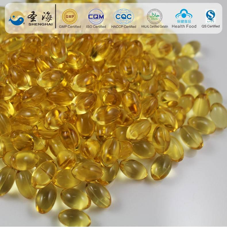 Private label squalene gelatin capsule improve memory