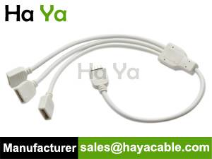 4 PIN Splitter Cable For RGB LED Strip