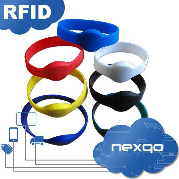 Colorful RFID wristband tag for access control