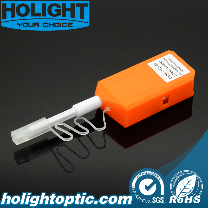Mini One Click Fiber Optic Cleaner for LC and Mu Connector