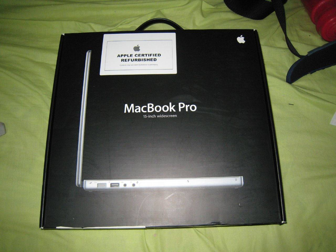 Republished Macbook with Retina display