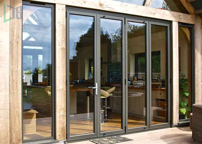 Good Quality Frameless Bifolding Doors Bi-Folding Glass Doors