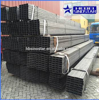 Hot Rolled Steel Rectangular Pipe from China