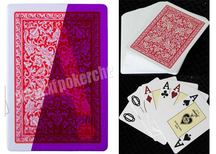 Gambling Spain Fournier 2818 Invisible Marked Playing Cards For Poker Games