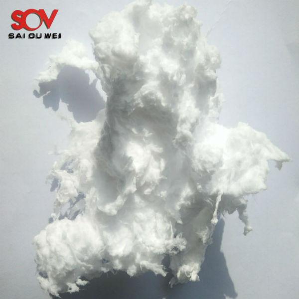 Superfine inorganic fibers spraying glass wool