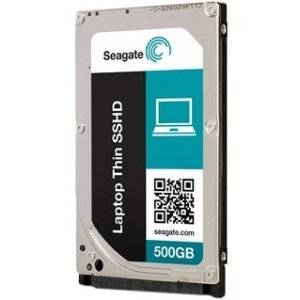 Seagate Laptop Thin SSHD 500GB SATA 6Gb/S NCQ Solid State Hybrid Hard Drive Disk Internal HDD