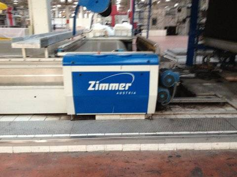 ZIMMER FLAT BED PRINTING MACHINE 10 COLOURS/2007 YOC/330 CM