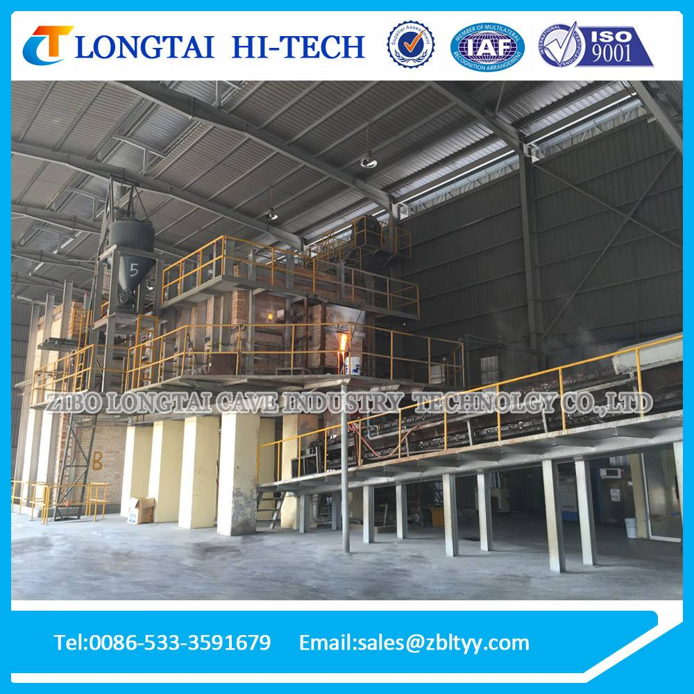 130 Tons Solid Sodium Silicate Furnace Production Equipment