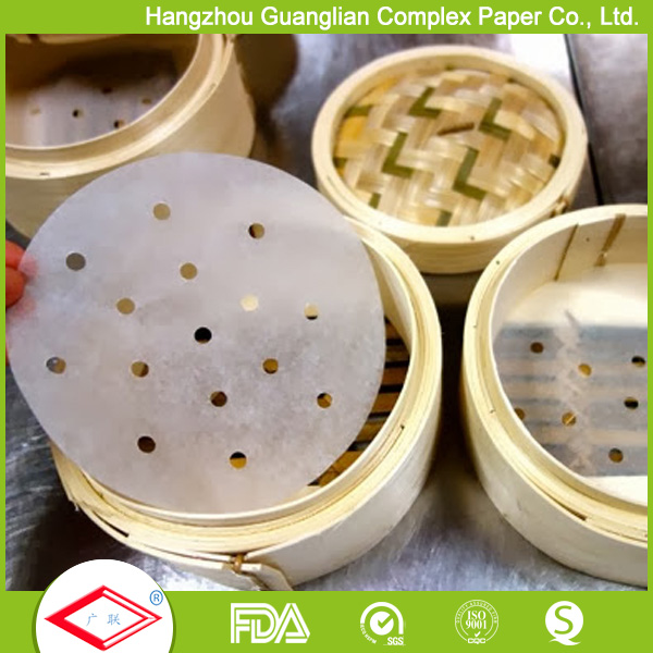 Dim sum paper for bamboo steamer