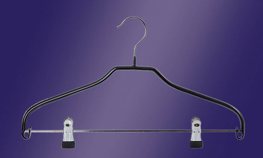 Metallic Clothing Hanger - Closet Hangers