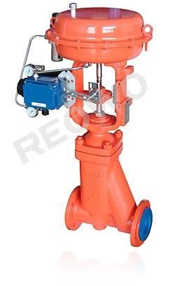 10P50F bellows fluorine lined control valve