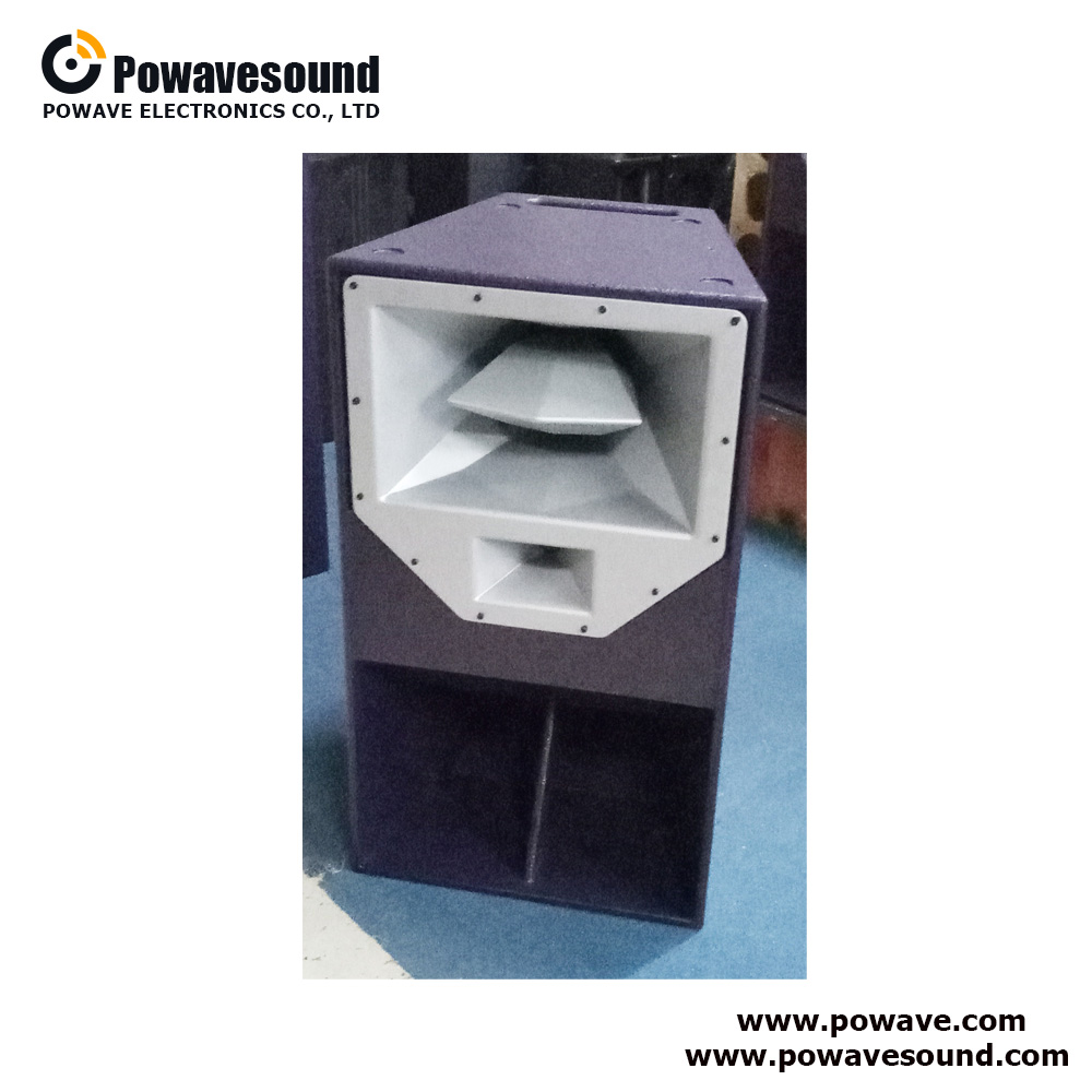 R2 DJ sound professional speaker 15 inch 3 way night bar club speaker